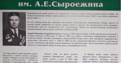 Краеведческий музей имени А.Е. Сыроежина